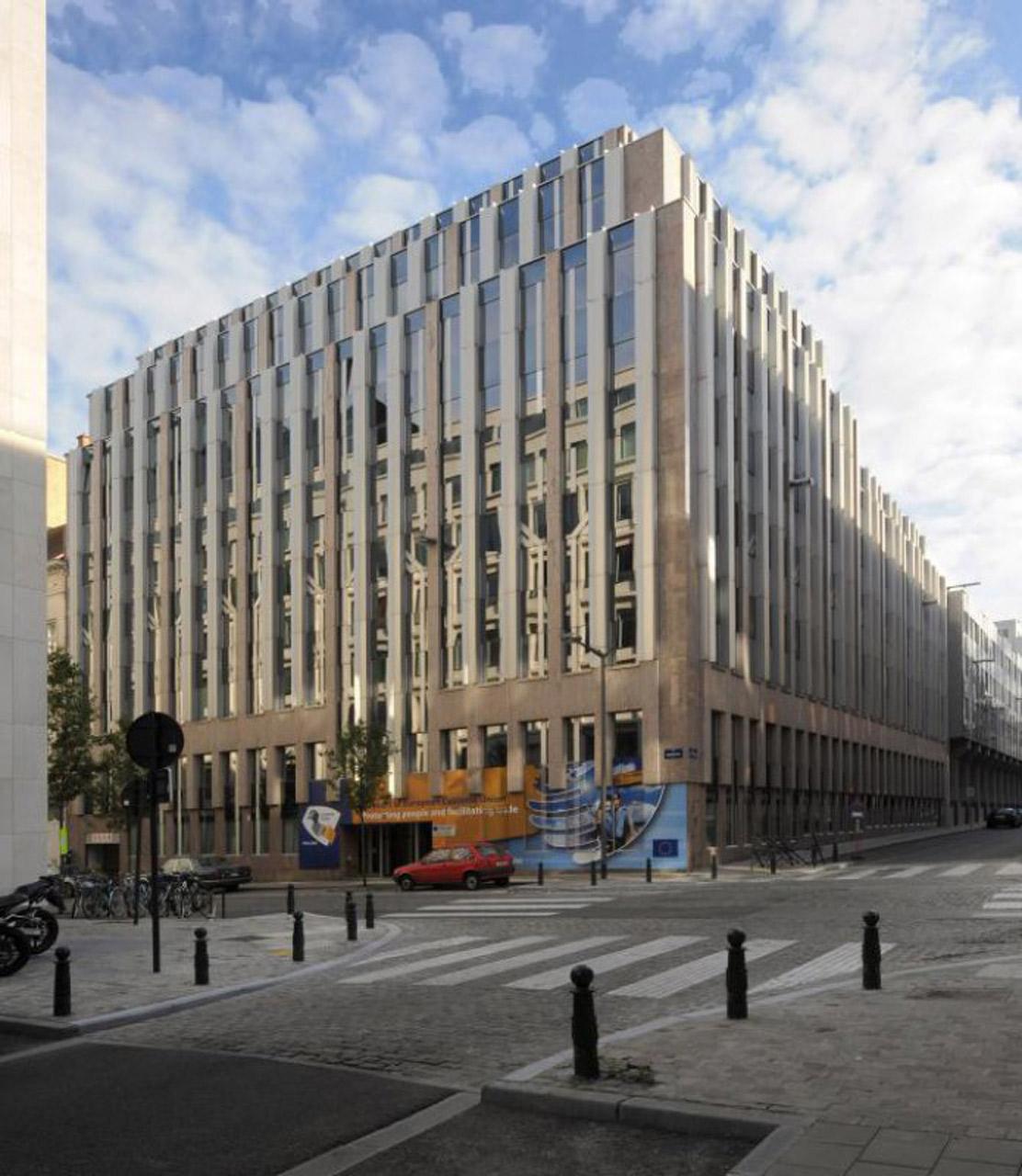 ATENOR Projet Montbourg Bruxelles Vue Depuis Carrefour