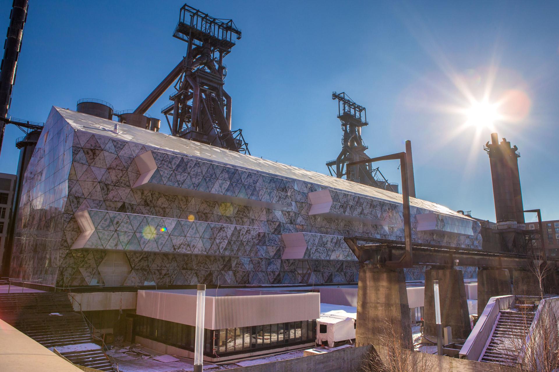 ATENOR Projet Naos Belval Vue Industrielle