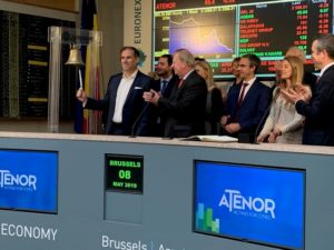 Euronext Bell Ceremony 8 May 2019